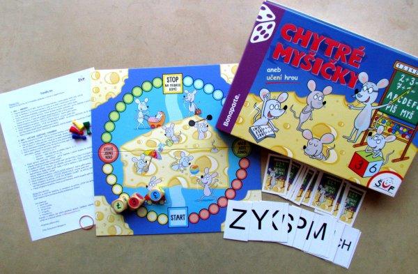 Chytré myšičky - balení