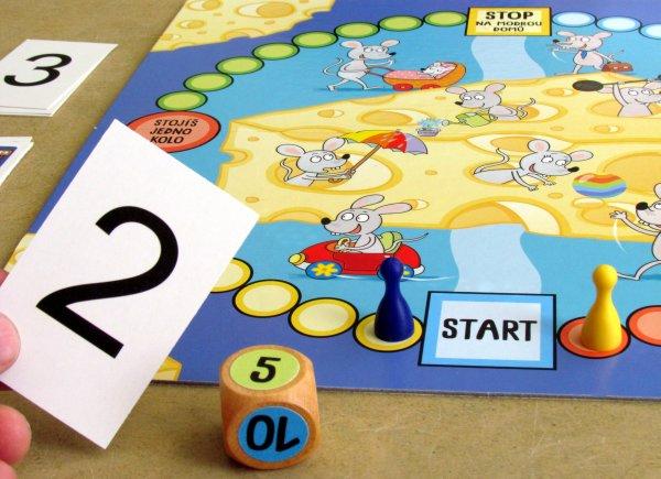 Chytré myšičky - rozehraná hra