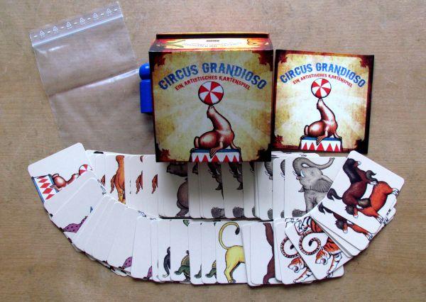Circus Grandioso - balení
