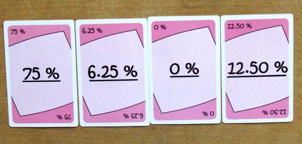 Číslohrátky - karty