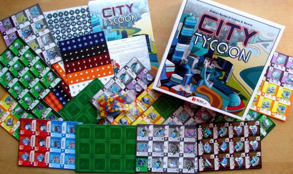City Tycoon - packaging