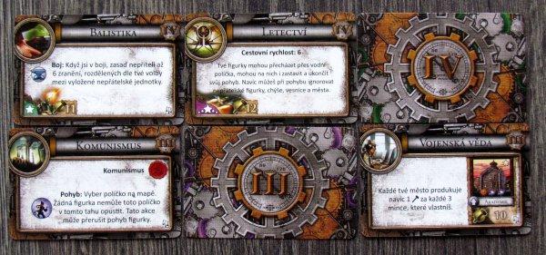 Civilizace: Sláva a bohatství - karty