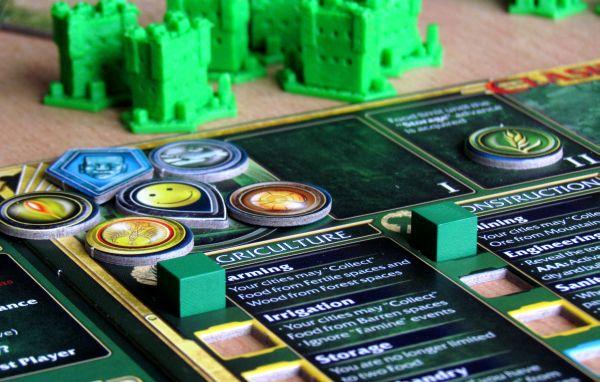 Clash of Cultures - připravená hra