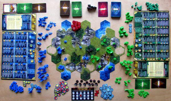 Clash of Cultures - rozehraná hra