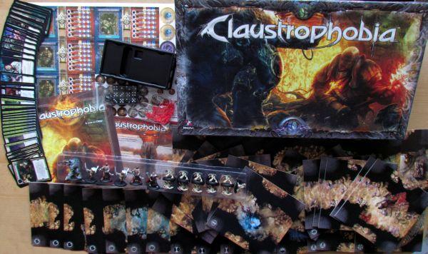 Claustrophobia - balení
