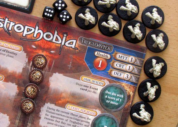 Claustrophobia - připravená hra