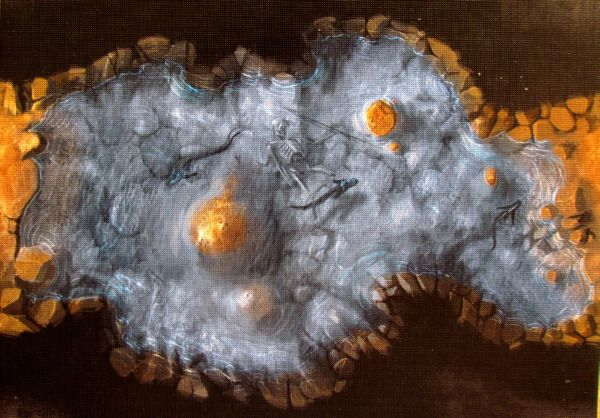 Claustrophobia - deska mapy