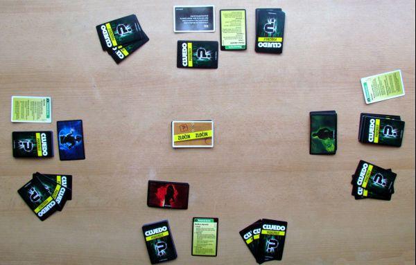 Cluedo: Podezřelý - připravená hra
