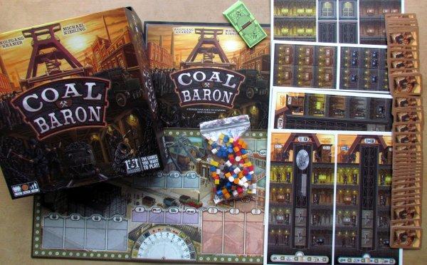 Coal Baron - balení