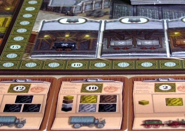 Coal Baron - připravená hra