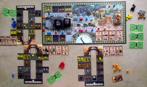 Coal Baron - rozehraná hra