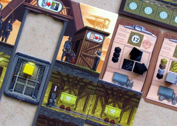 Coal Baron - game in progress