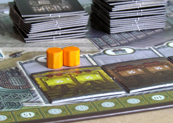 Board game review: Coal Baron - game in progress