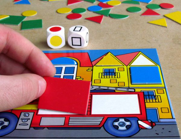 Colorino - rozehraná hra