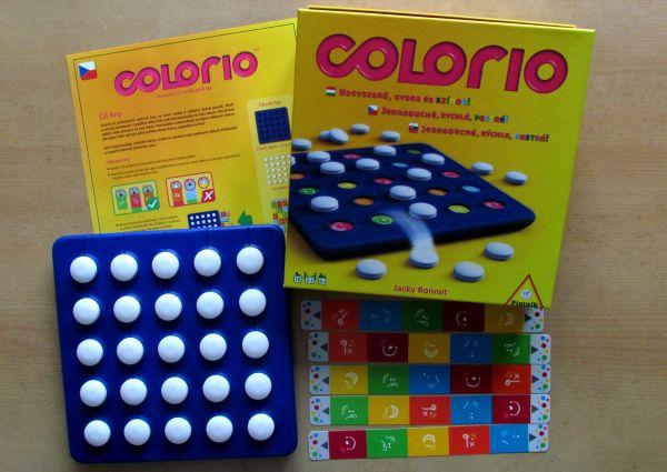 Colorio - balení