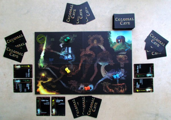 Colossal Cave - game in progress