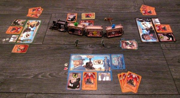 Colt Express - rozehraná hra