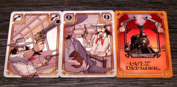 Colt Express - karty