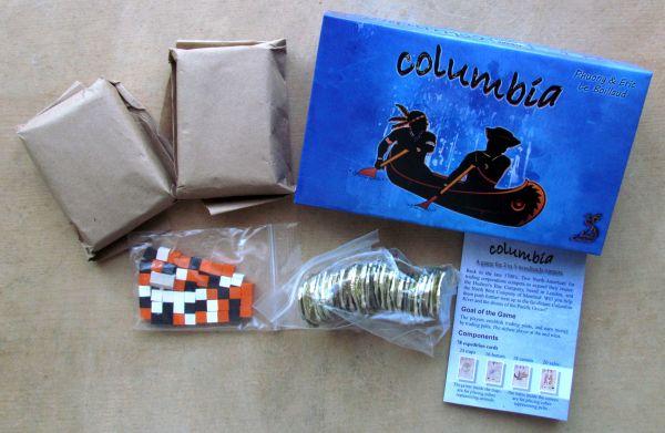 Columbia - balení