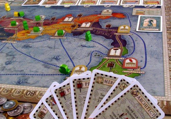 Concordia - rozehraná hra