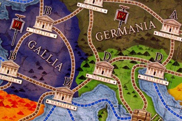 Concordia - detail herního plánu