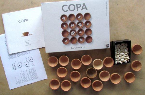 Copa - balení