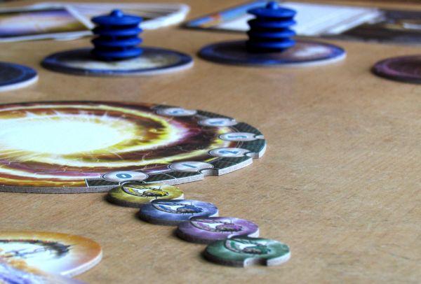 Cosmic Encounter - připravená hra