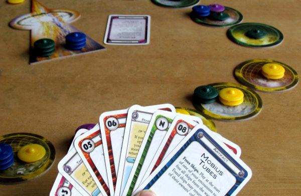 Cosmic Encounter - rozehraná hra