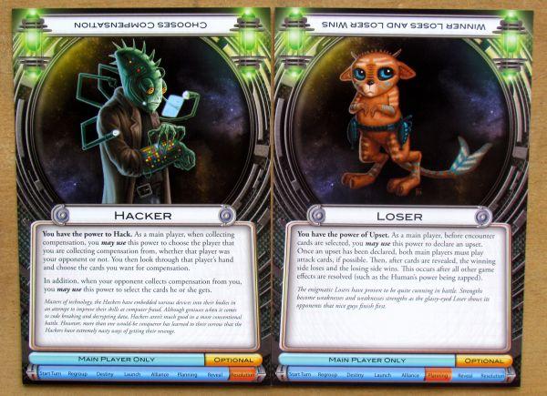 Cosmic Encounter - karty mimozemšťanů