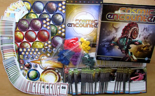 Cosmic Encounter - balení