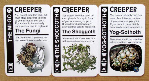 Cthulhu Fluxx - cards
