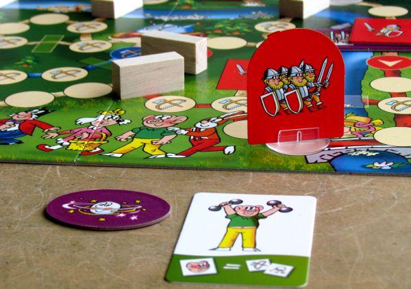 Čtyřlístek a stroj času - rozehraná hra