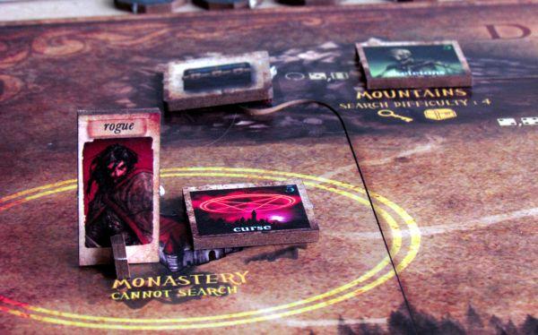 Darkest Night - rozehraná hra
