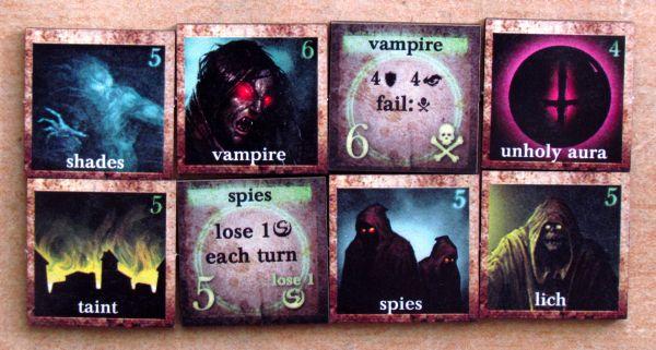 Darkest Night - tokens