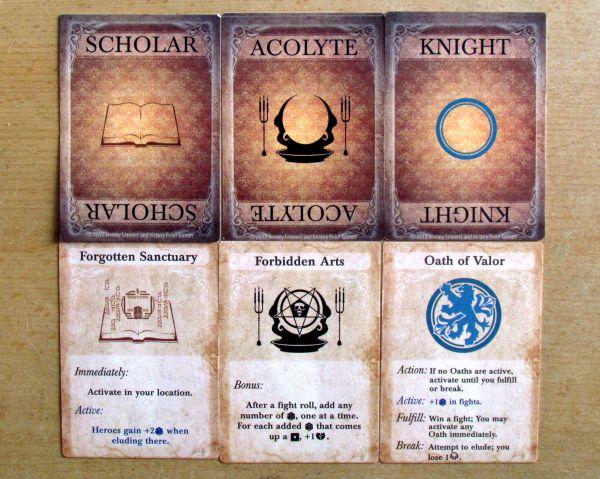 Darkest Night - cards