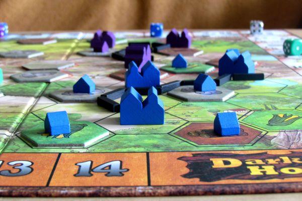 Dark Horse - připravená hra