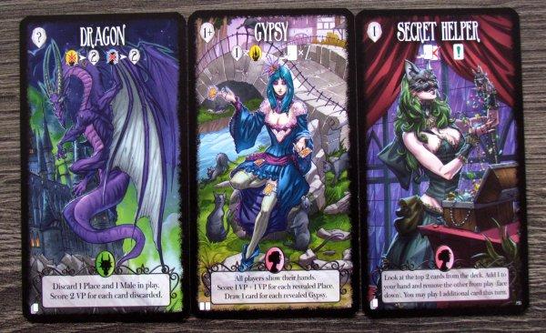 Dark Tales - karty