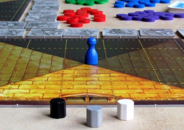 Das Labyrinth des Pharao - připravená hra