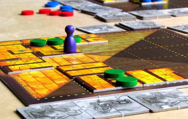 Das Labyrinth des Pharao - rozehraná hra