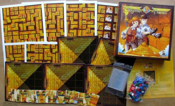 Das Labyrinth des Pharao - balení