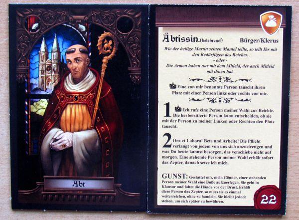 Das Letzte Bankett - karty postav