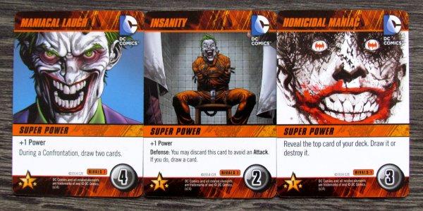 DC Comics Rivals: Batman vs Joker - karty