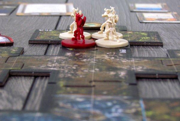 Descent: Výpravy do temnot - připravená hra
