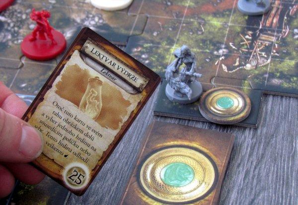 Descent: Výpravy do temnot - rozehraná hra