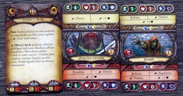 Descent: Výpravy do temnot - karty