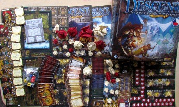 Descent: Výpravy do temnot - balení