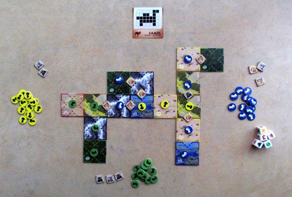 DiceAFARI - rozehraná hra