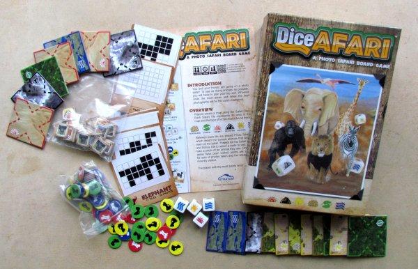 DiceAFARI - balení