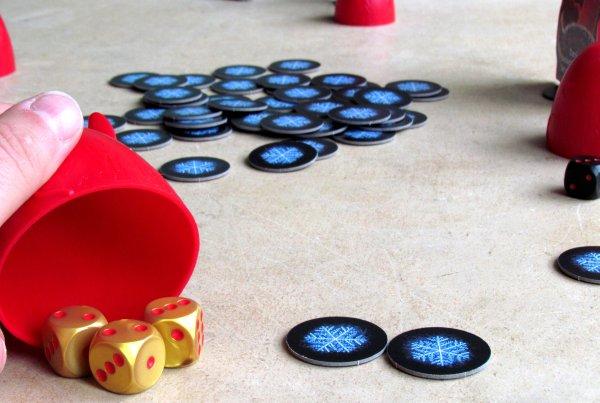 Dice Devils - rozehraná hra