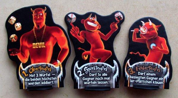 Dice Devils - figurky